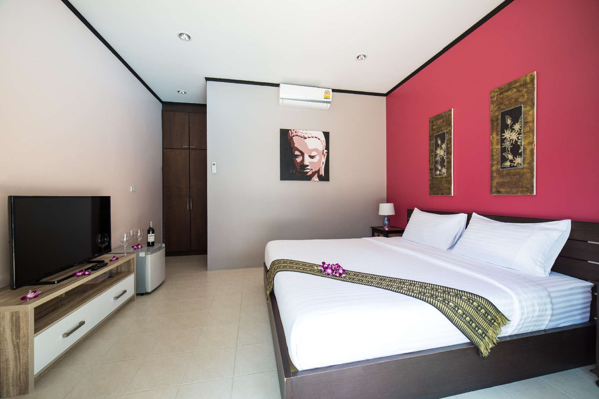 Refurbished bedroom - Ma Maison Phuket in Bang Tao Beach 002